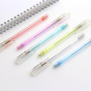 Image 5 - 7 قطع Pentel Caplet A105 شارب القلم التلقائي الميكانيكية صياغة أقلام 0.5 مللي متر اليابان 7 ألوان