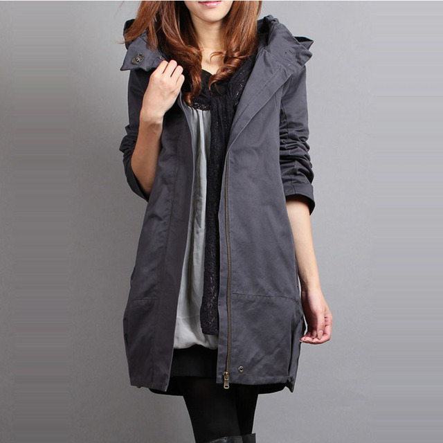 2016  2014 Real Winter Coat Jaqueta Feminina Plus Size Clothing Wadded Jacket Medium-long Fashion Outerwear Cotton-padded Female
