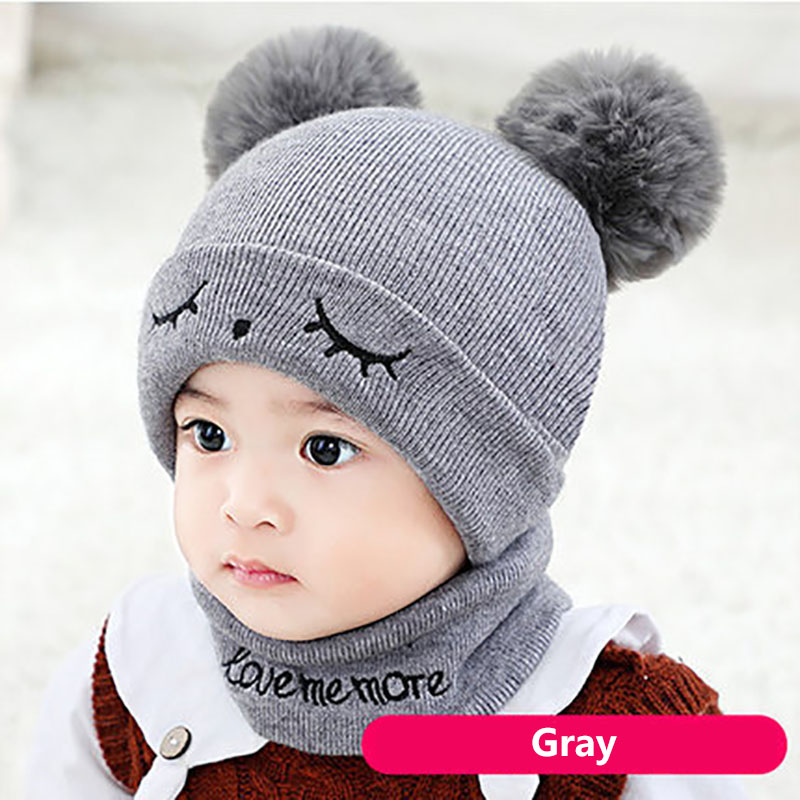 1-3 Years Baby Toddler Kids Boy Girl Knitted Lovely Spire Soft Hat Sweater Caps