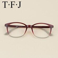 51fe117a364 Fashion Eyeglasses Frames Unisex Myopia Square Glasses Comfortable Gradient  Color Tr90 Lens Transparent Prescription Spectacles(