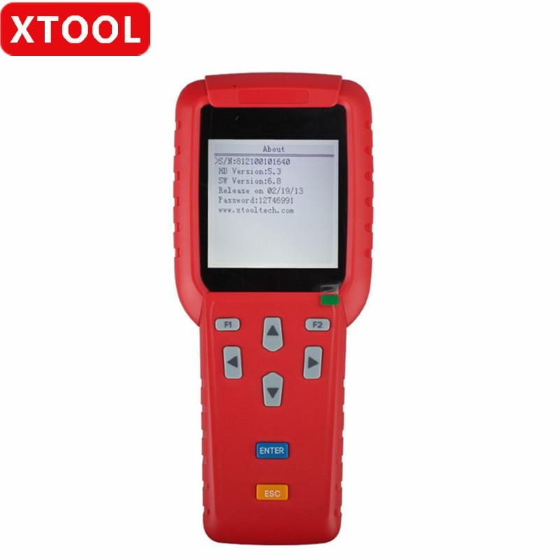 XTOOL X-100+ X100 Plus автоматический программатор обновление онлайн с адаптером EEPROM