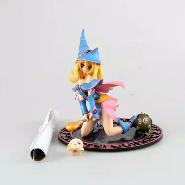 Anime Yu-Gi-Oh Dark Magician Girl Mana Acition Figure Dolls ToysAnime Yu-Gi-Oh Dark Magician Girl Mana Acition Figure Dolls Toys