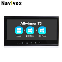 Navivox 8 8 2 Din CarGPS Navigation Stereo Audio Player Android 7 1 1 Quad Core