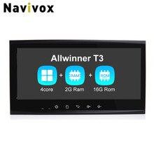 "Navivox 8.8"" 2 din CarGPS Navigation Stereo Audio Player Android 7.1.1 Quad Core For Touareg Old Ram2G Car Radio GPS Navigation"