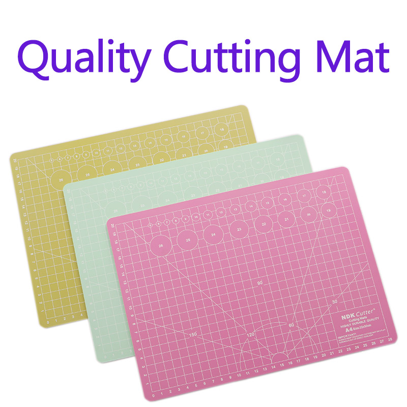 DUOFEN METAL CUTTING DIES quality PVC 3.0mm cutting mat for crafting works DIY Scrapbook Paper Album 2018 new