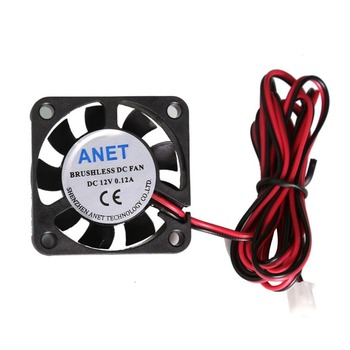 Anet A8 A6 4010 FAN 12V 24V Circuit Board Heat Cooler Ventilator Small Fan Brushless DC Cooling Fan 2pin For 3D Printer anet a8 a6 mainboard control board mother board diy self assembly for reprap 3d desktop printer diy kit