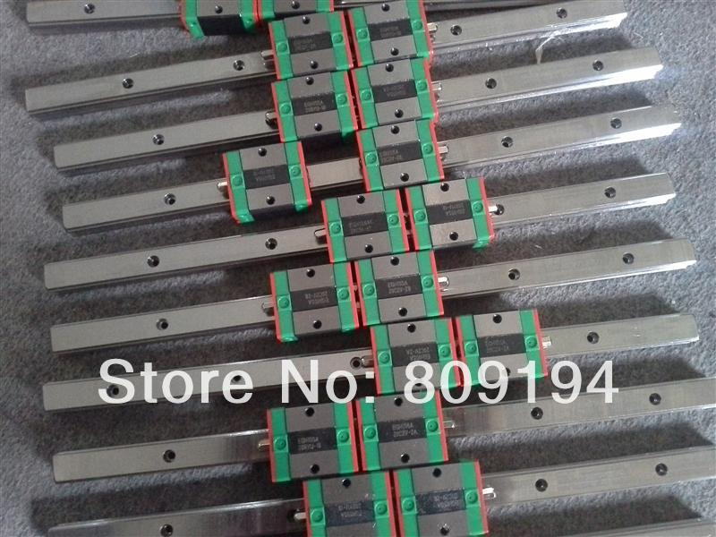 HIWIN MGNR 850mm HIWIN MGR15 linear guide rail from taiwan hiwin linear guide rail hgr15 from taiwan to 1000mm