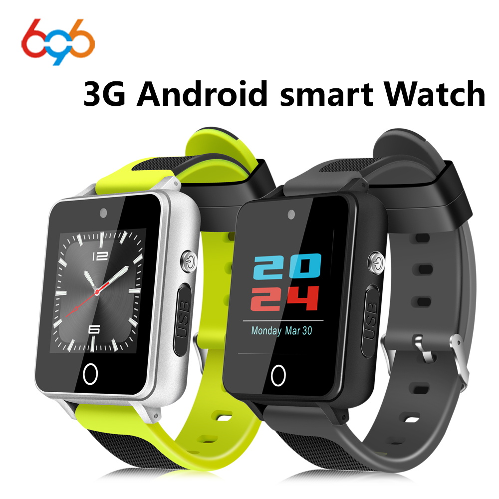 696 NEW S9 Smart Watch Android 5.1 Mtk6580 1GB+16GB support SIM TF card Bluetooth 4.0 3G GPS Wifi SmartWatch with 2.0 Camera IOS цена