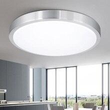 Ceiling lights LED lamp Diameter 21/26cm Acryli panel Aluminum frame edge indoor lighting Bedroom living kitchen LED light 12W
