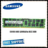 Samsung memoria del server DDR3 8 GB 16 GB 1866 MHz ECC REG DDR3 PC3-14900R Registro DIMM RAM 14900 8G 2RX4 X58 X79