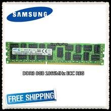 Серверная память Samsung DDR3, 8 ГБ, 16 ГБ, 1866 МГц, ECC REG DDR3 PC3-14900R, DIMM RAM 14900 8G 2RX4 X58 X79