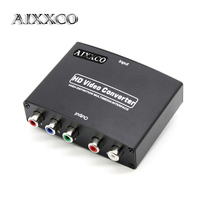 AIXXCO 1080P HD HDMI To RGB Component YPbPr Video And R L Audio Adapter Converter Eletronic