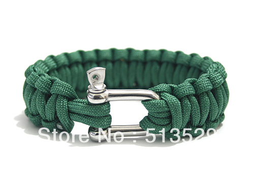 New Style 550 Military Paracord Bracelet Survival