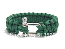 New style 550 Military Paracord Bracelet Survival Bracelet