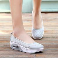 STAINLIZARD Woman Casual Shoes Summer Fashion Woman Flats Breathable Footwear Solid Shoes For Female Outdoor Mesh