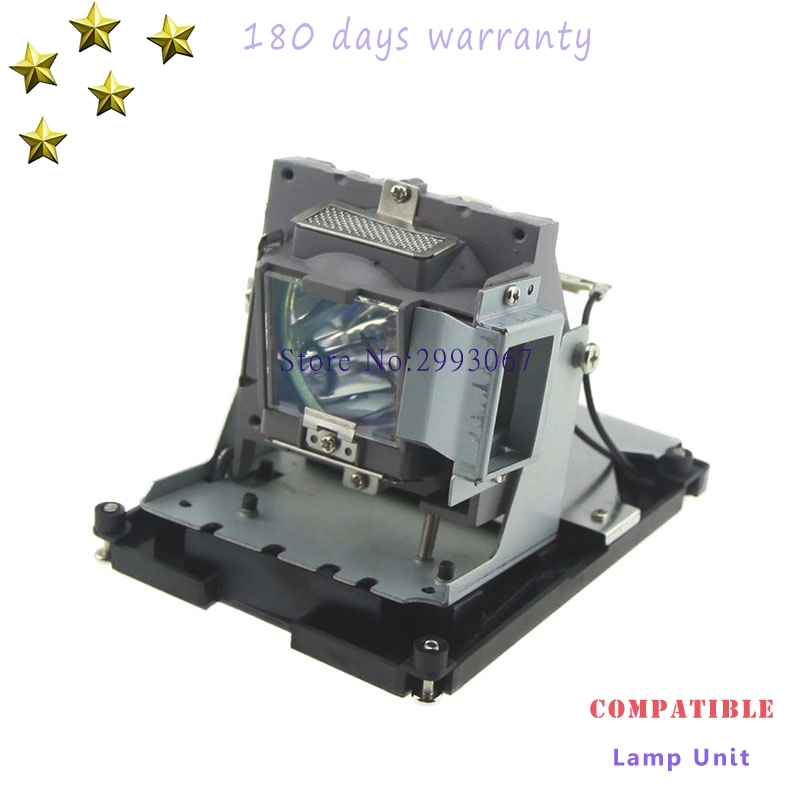 Replacement lamp 5811118436-SOT with housing for OPTOMA DH1017 EH500 X600 Projectors with 180 days warranty