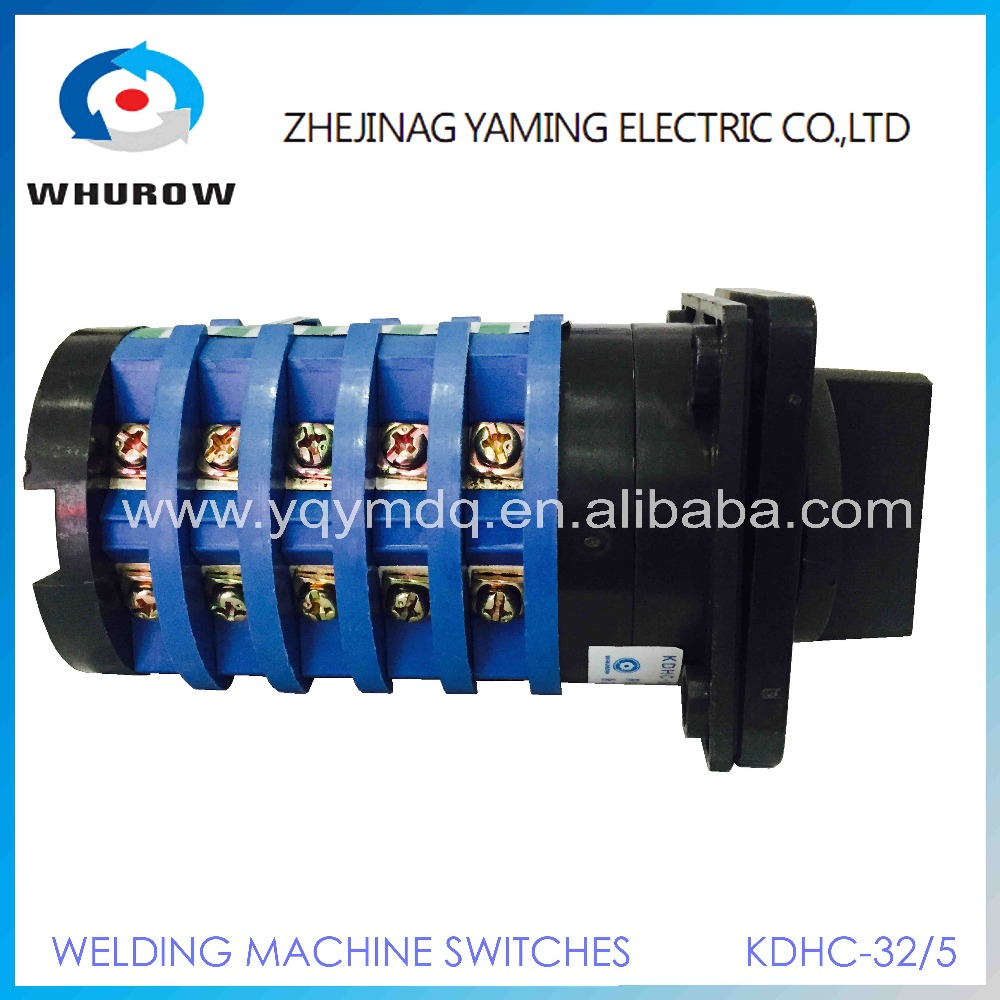 Kdhc 32 510 10 Position 5 Phase Electrical Switches For Co2 Welding 5p Way Selector Switch Wiring Diagram Machine Changeover Rotary High Quality Ac50hz 380v In From Lights