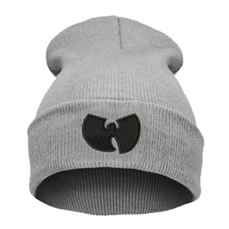 d69b7915b33 Women Cap With WU TANG CLAN Warm Winter Hats for Women Men Beanie Knitting  Wool Hip Hop Hat Male Gorros De Lana-in Skullies   Beanies from Apparel ...