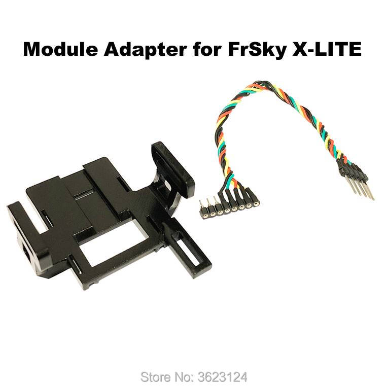 JR Module Adapter For FrSky X-LITE TBS Crossfire iRangeX IRX4 Multiprotocol JR Type TX Drone Quadcopter Multi Rotor Parts