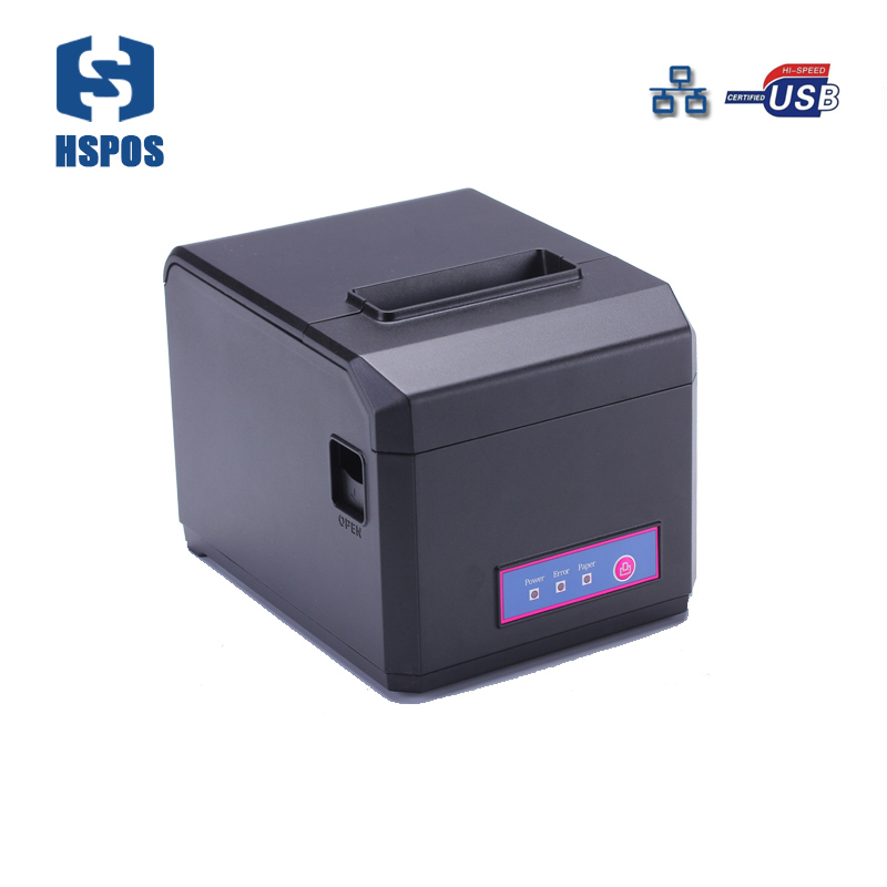 High quality China price pos 80 printer thermal driver with usb lan port desktop printer cutter support Windows Linux drivers wholesale brand new 80mm receipt pos printer high quality thermal bill printer automatic cutter usb network port print fast