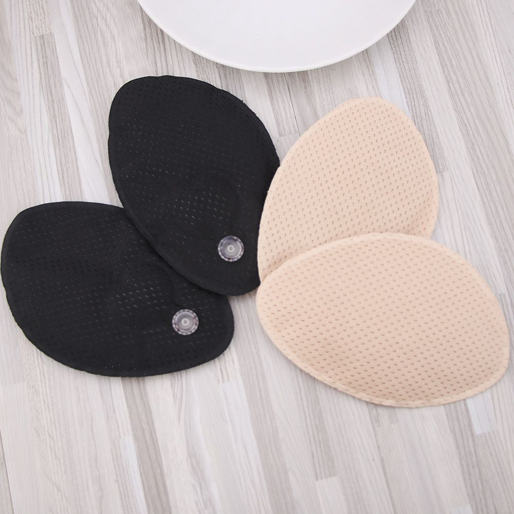 1pair Fashion New Women Bikini Push Up Pads Foam Sexy Bra Inserts Breast Lift Comfy Cotton Enhancers Hot