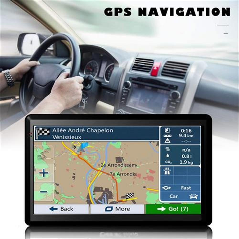GPS For Car Navigation,7 Inch Capacitive Screen Car Truck GPS Navigation RAM256M-ROM8GB Navigator New Europe Russia Spain Maps(China)