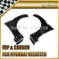New Car Styling For Hyundai Veloster OEM Style Real Carbon Fiber Front Fender Flares