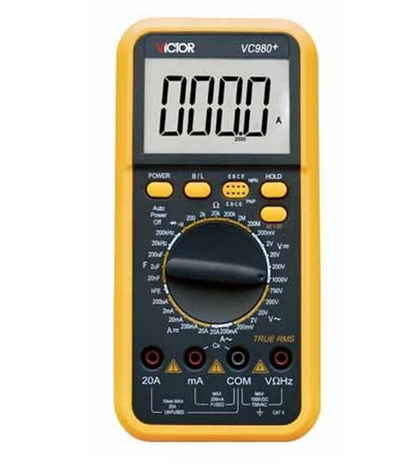 VC980+ 4 1/2 RMS Digital Multimeter DMM Multi Meter