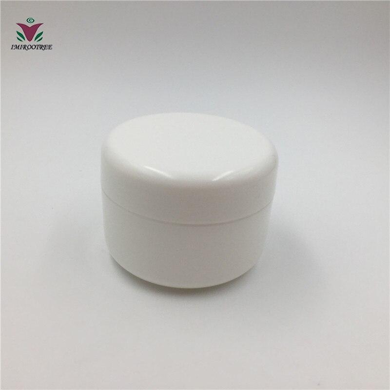 Free Shipping 40PCS 100g Empty Cosmetic Cream Container Plastic Cream Box Plastic Can