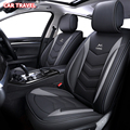 De lujo de la cubierta de asiento de cuero de coche para lada 2107 2114 granta kalina grant rayos X nterior accesorios de automóviles cubiertas de asiento de coche
