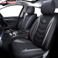 Luxury Leather car seat cover for lada 2107 2114 granta kalina grant xray nterior Accessories Automobiles Seat Covers car seats