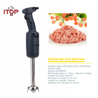 ITOP New Arrival Commercial Handheld immersion blender Stainless Steel Beater Electric Professional Food Mixer EU/US/UK Plug