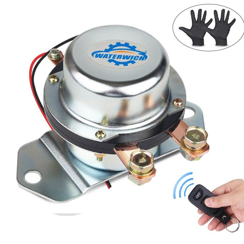 Commutateur automatique de batterie de voiture 12 v 24 v avec la télécommande sans fil les commutateurs principaux de coupure électromagnétique déconnectent le véhicule