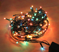 220V Led String Christmas Lights Outdoor 96 Leds Night Light For Holiday Party Decoration Luminarias Home