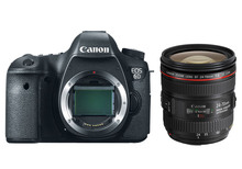 EOS 6D 20.2MP Full Frame DSLR Camera Body & 24-70mm F/4L IS USM Lens