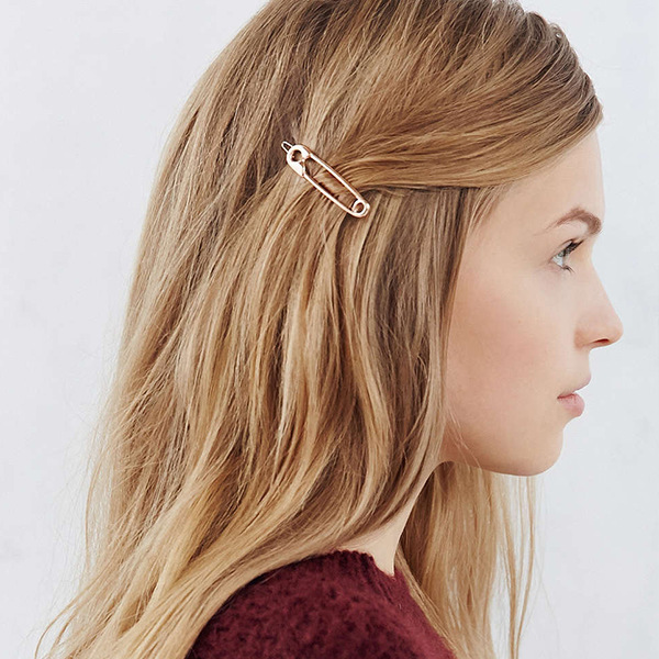 1 Pcs New Adult Nifty Simple Metal Paper Clip Styling Hair Accessories For Women Girls Fashion Hairpin