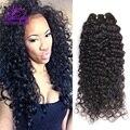 Бразильский Kinky Вьющиеся Волосы Девственницы 4 Связки Норки Бразильский Девственные Волосы Вьющиеся Человеческих Волос Необработанные Бразильские Глубоко Вьющиеся Волосы