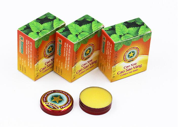 20pcs 4g Golden Star Balm Ointment For Headache Dizziness Insect Stings Heat Portable Body Care Feminine Hygiene Product20pcs 4g Golden Star Balm Ointment For Headache Dizziness Insect Stings Heat Portable Body Care Feminine Hygiene Product