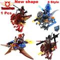 1 unids nexus caballeros última combinación de arcilla macy bestia maestro lavaria building blocks juguetes mini compatible sy716