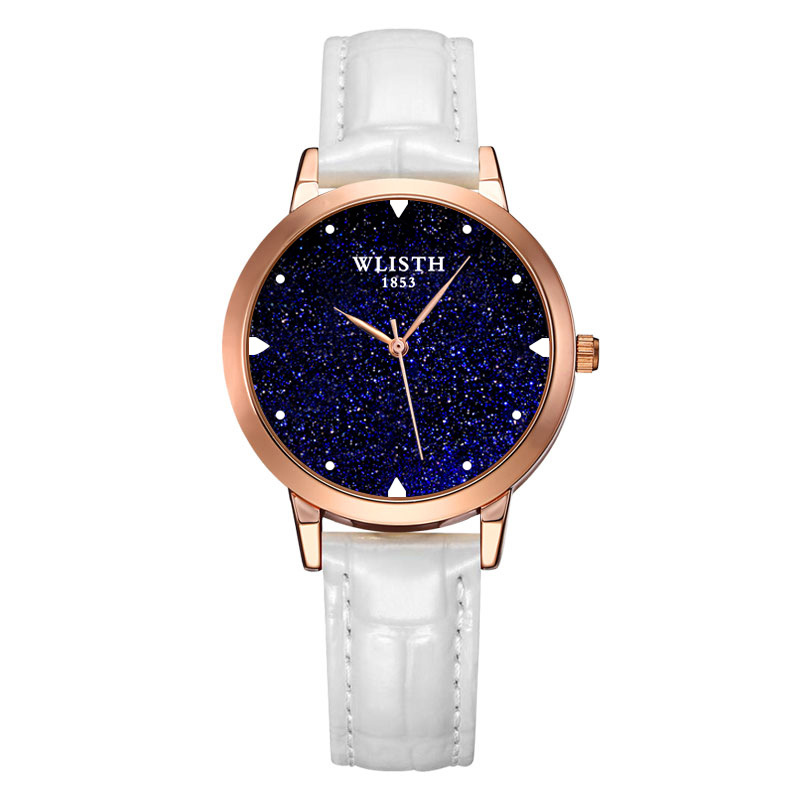 Luxury Starry Sky Women Watches Fashion Ladies Dress Wrist Watches Leather Style Waterproof Clock Female relogio Feminino 2018 5