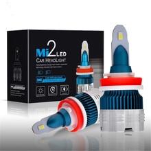 2x 25W 6000LM COB LED Car Headlight Kit Hi/Lo Beam Light Bulbs White 6000K H1 H3 H7 9005 HB3 9006 HB4 H8 H9 H11 H4 HB2 9003 9004