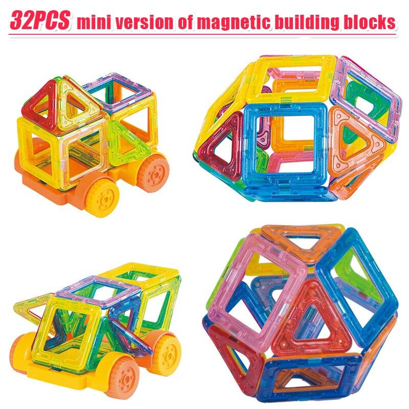 136Pcs Metal Magnets Cube Magic Building Blocks Children Educational Puzzle Toys