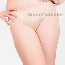 Removable Padded Lace Seamless Butt Hip Enhancer Shaper Panty Booster Underwear-Y107
