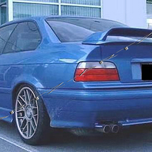 Z-ART задний спойлер из углеродного волокна для BMW E36 Coupe заднее крыло из углеродного волокна для BMW 3 Coupe 1990-1998 задний спойлер из углеродного волокна