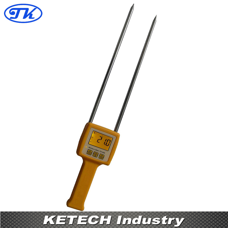 TK100S Digital Moisture Meter Portable Grain Moisture Meter (Corn,Wheat,Rice,Bean,Wheat Flour.) site specific nutrient management in rice wheat cropping system