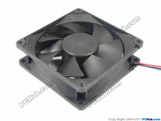 Emacro Y.S TECH NFD4881255B-2F DC 48V 2.88W 80x80x25mm Server Square fan