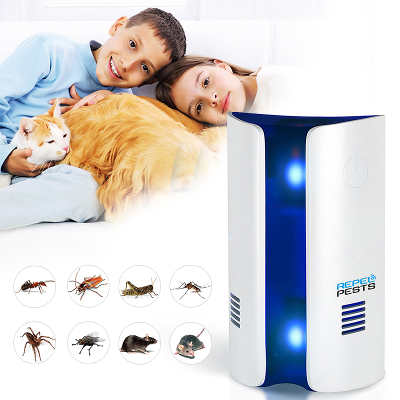 Bread Type Multi-functional Ultrasonic Electronic Repeller Repels Mice Bed Bugs Mosquitoes Mosquito Repellent Killer
