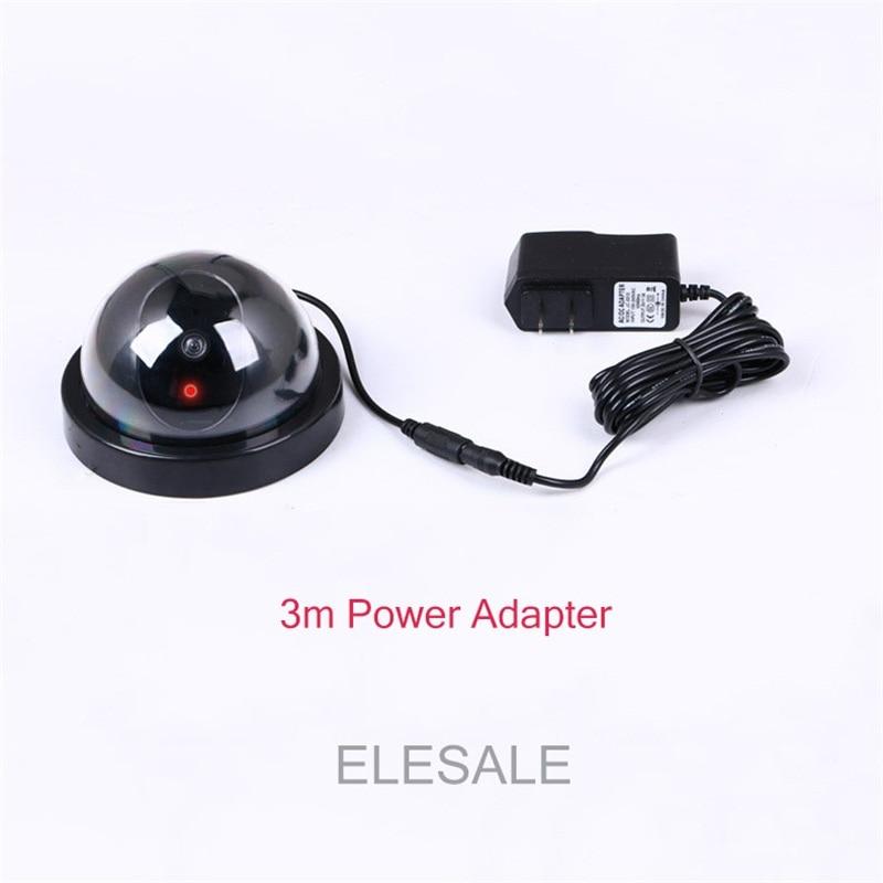 3M Power Adapter Black Plastic Housing Fake Camera LED Dummy Security Camera Ir Led Dome CCTV Camera Surveillance Camera цены онлайн