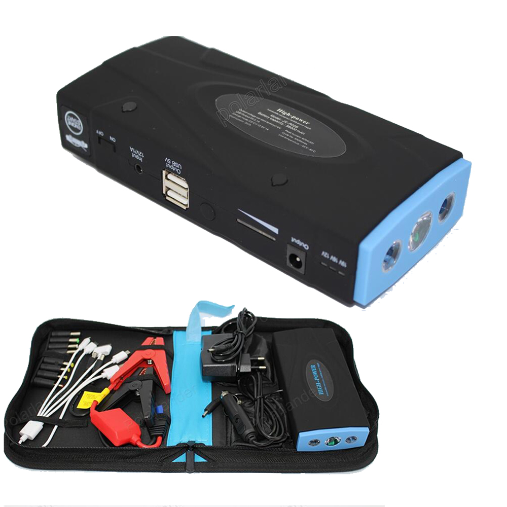 Car booster Multi-function Car Jump Starter Portable Emergency Battery Charger Vehicle Starting  Auto Car Power BankDiesel 18000mah emergency car jump starter charger booster emergency car jump starter