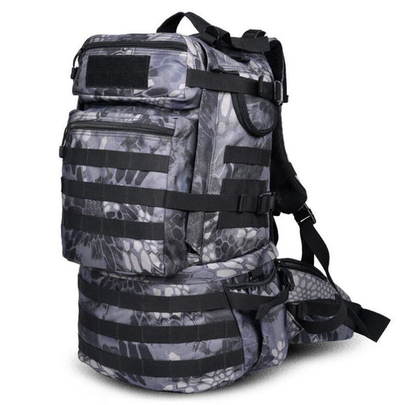Military Army Backpack 50L Nylon Water-proof Camp Hike Camouflage Backpacks Large-capacity Men Bag X103 карбюратор ваз 21073 v 1700 дааз купить в воронеже
